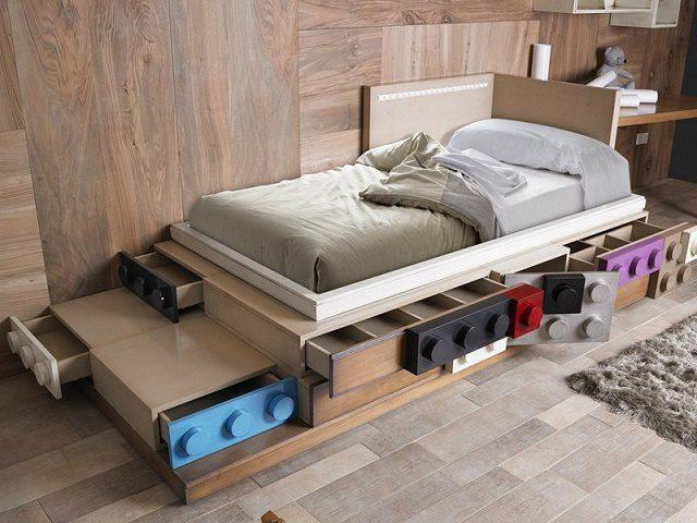 17 Clever Kids Room Storage Ideas 2