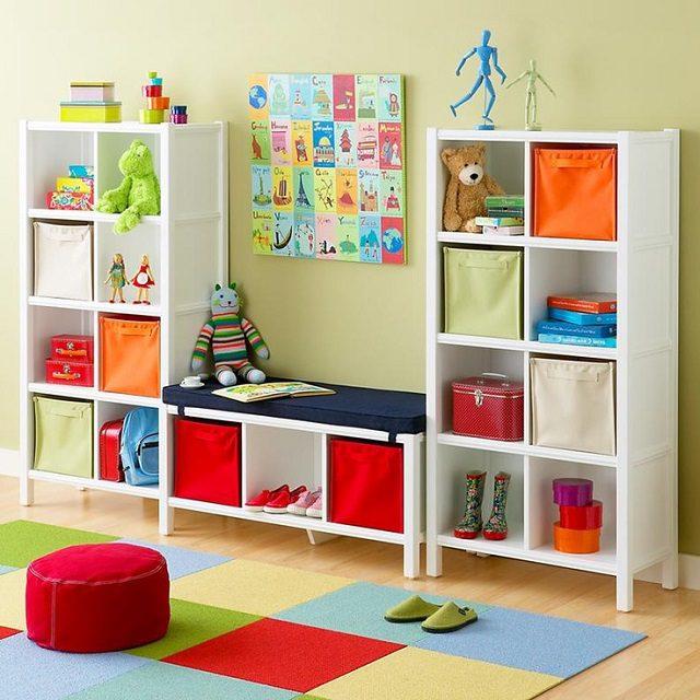 17 Clever Kids Room Storage Ideas 3