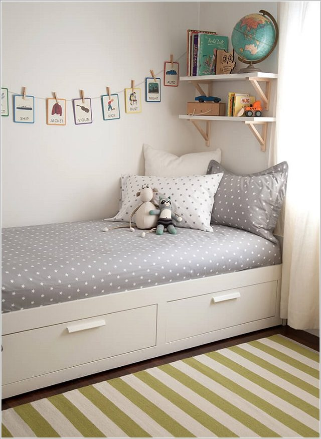 17 Clever Kids Room Storage Ideas 8