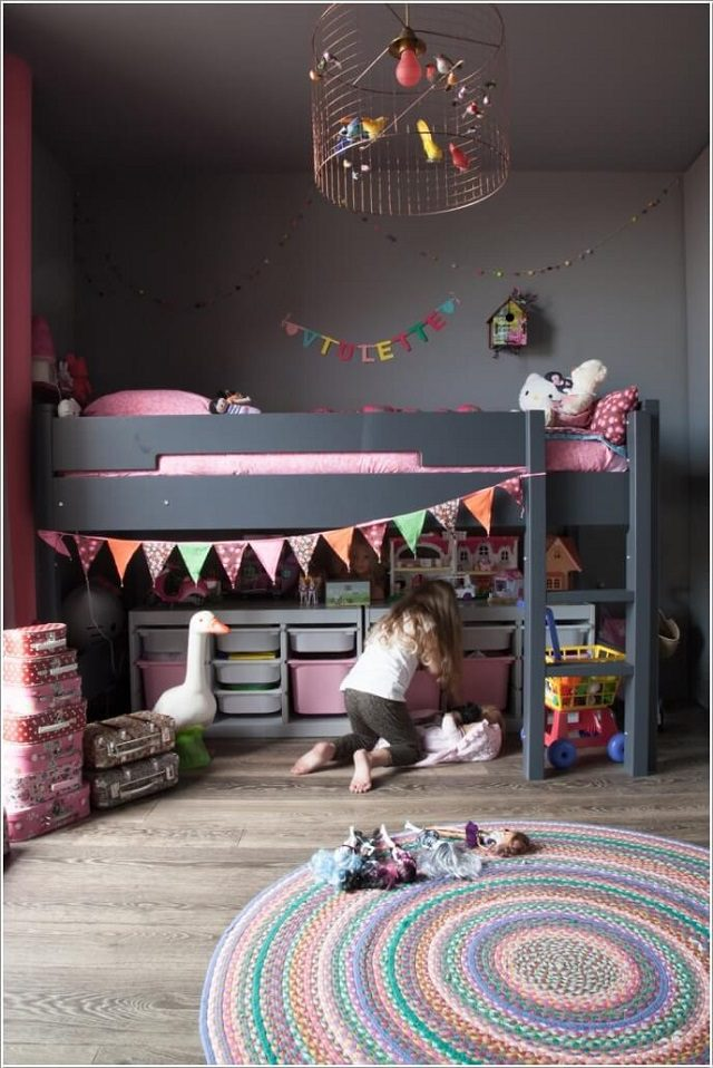 17 Clever Kids Room Storage Ideas 9