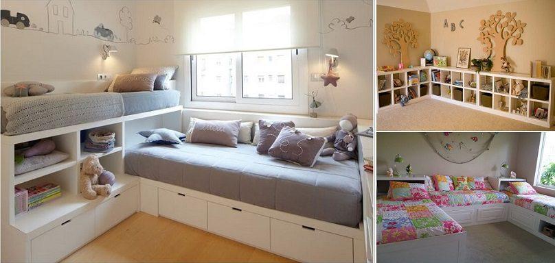 17 Clever Kids Room Storage Ideas