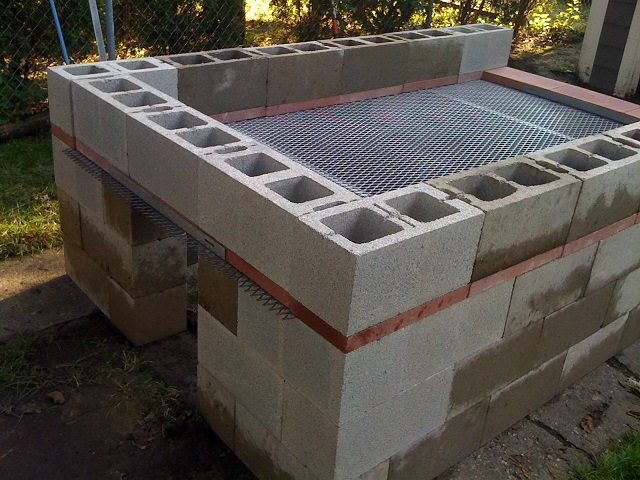 cinder block bbq pit plans how to build a bbq pit icreatived 634
