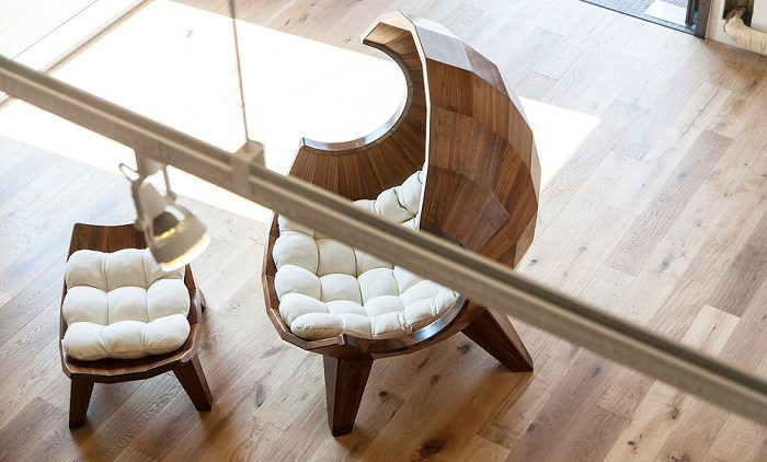 A Stylish Segment Chair By Sae Rom Yoon 2