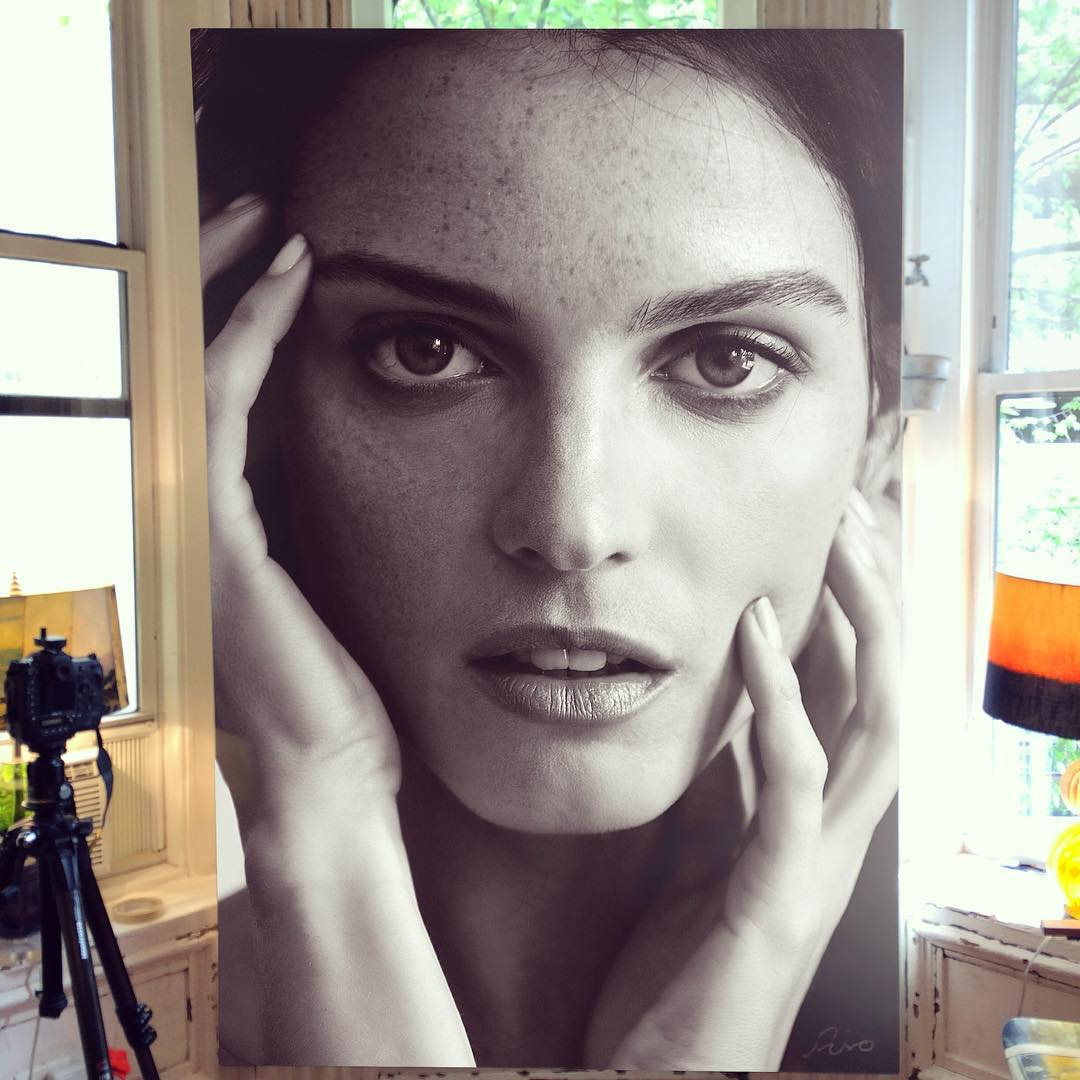 Amazing Art Work In Large-Scale Photorealistic Paintings 13