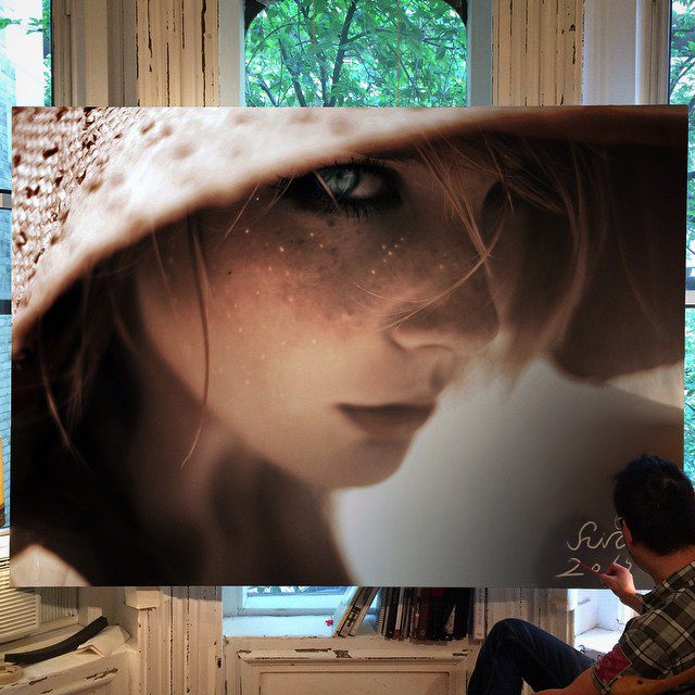 Amazing Art Work In Large-Scale Photorealistic Paintings 14