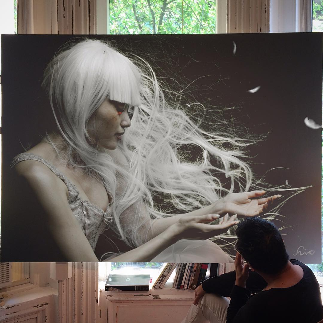 Amazing Art Work In Large-Scale Photorealistic Paintings 16