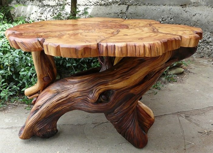 Awesome rustic furniture to brighten up your home icreatived - Mesa de centro rustica ...