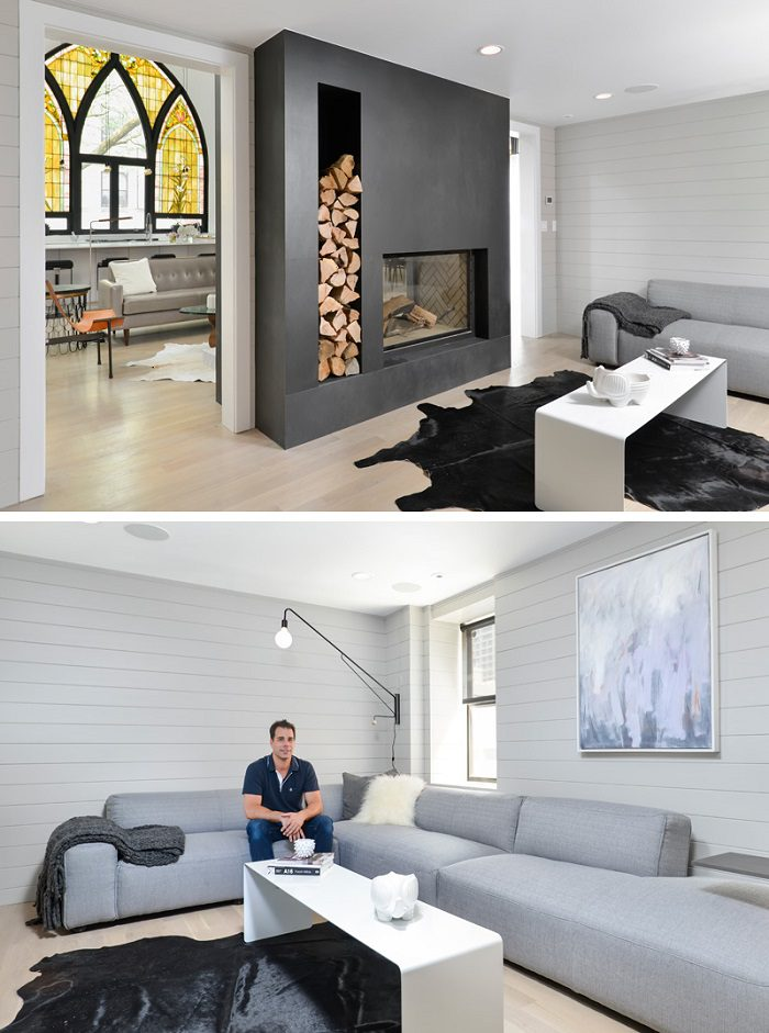 Church Transformed Into Modern Family House in Chicago iCreatived