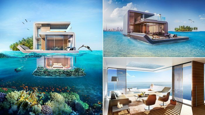 Dubai Floating Luxury Villa Seahorse