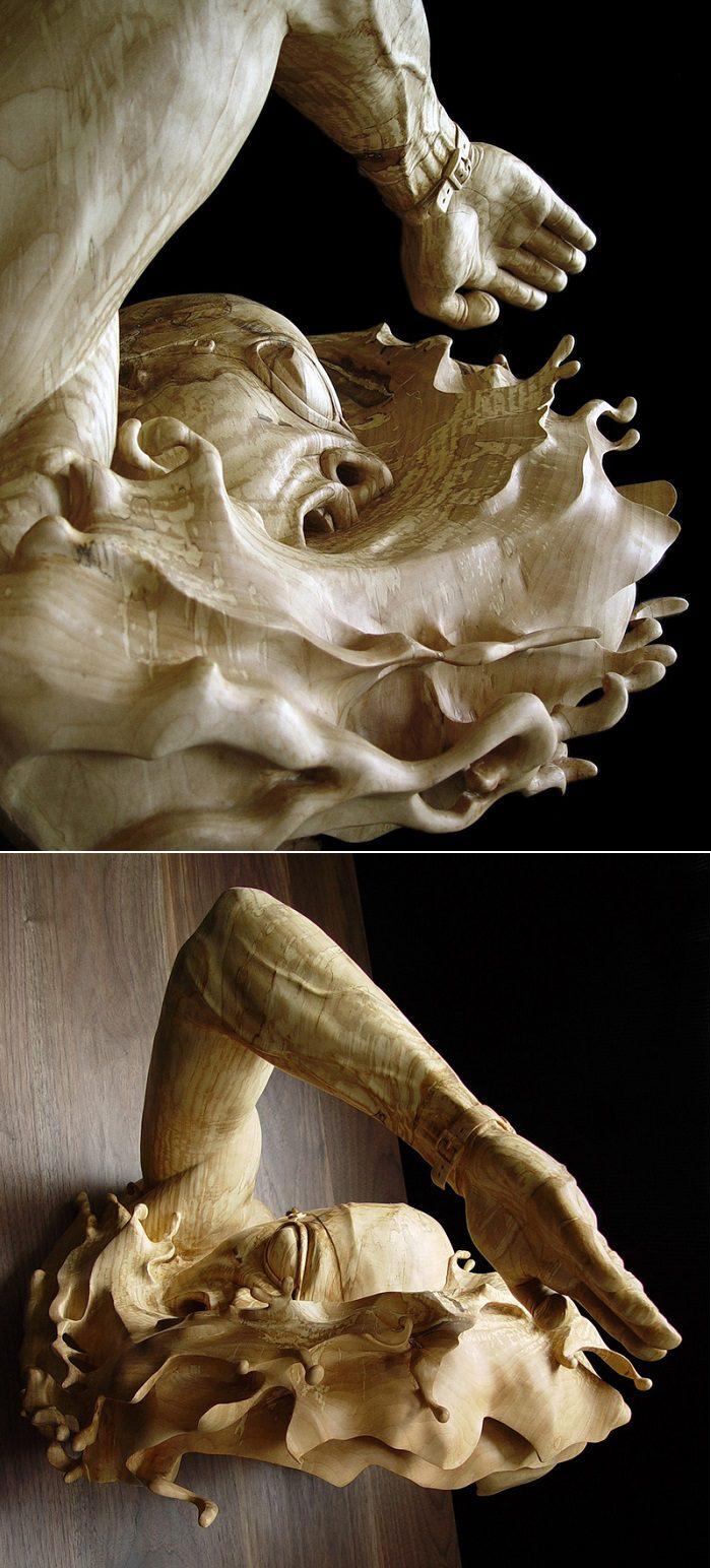 Figurative Wooden Sculptures by Stefanie Rocknak 2