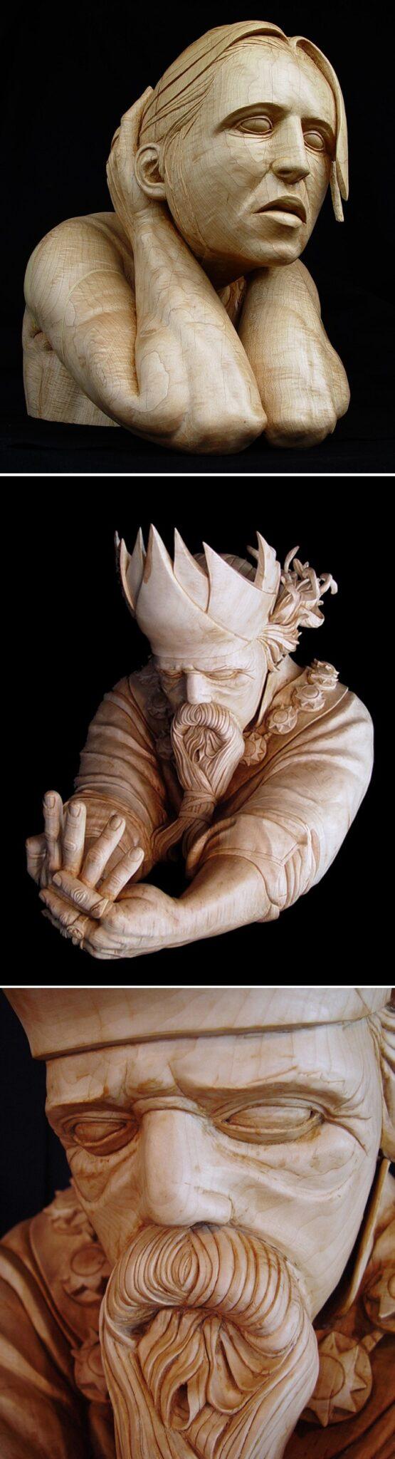 Figurative Wooden Sculptures by Stefanie Rocknak 4