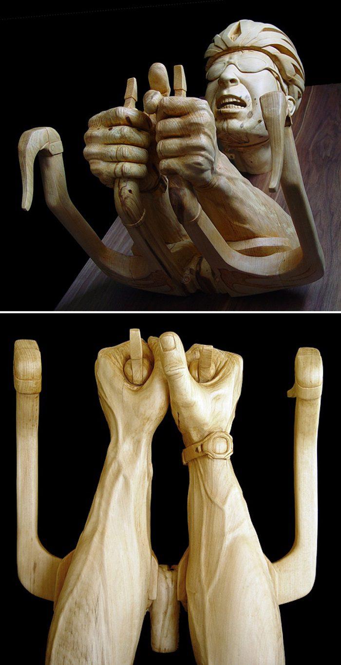 Figurative Wooden Sculptures by Stefanie Rocknak 5