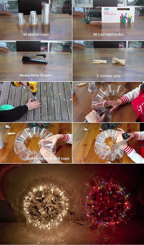 How To Make a Sparkle Ball Light
