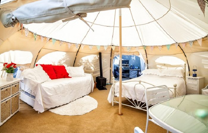 Lotus Belle Luxury Camping Tents Icreatived
