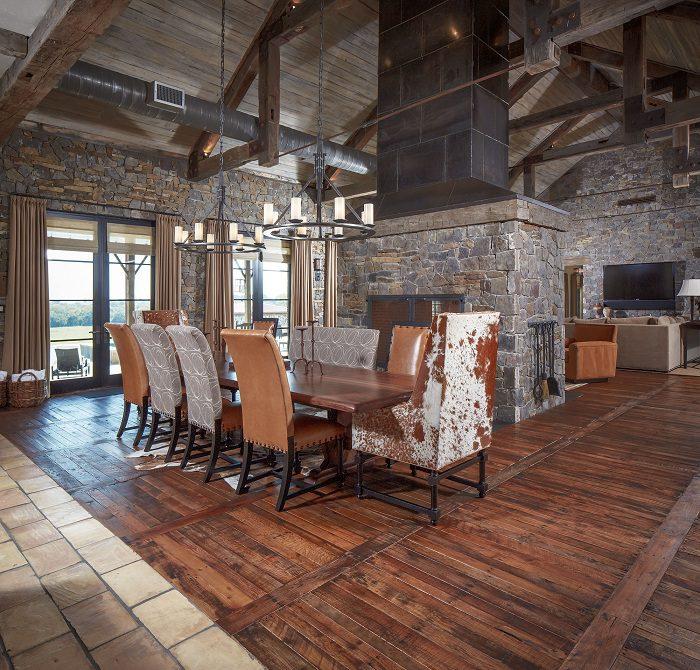 Pallet Wood Flooring 1