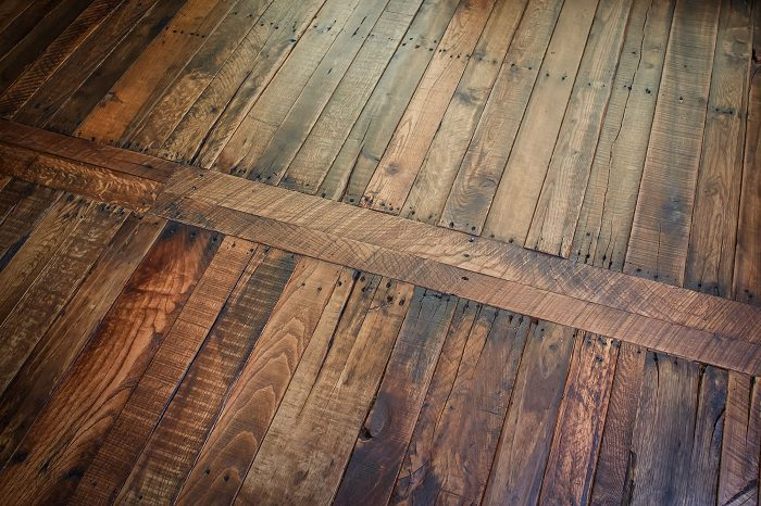Pallet Wood Flooring 4