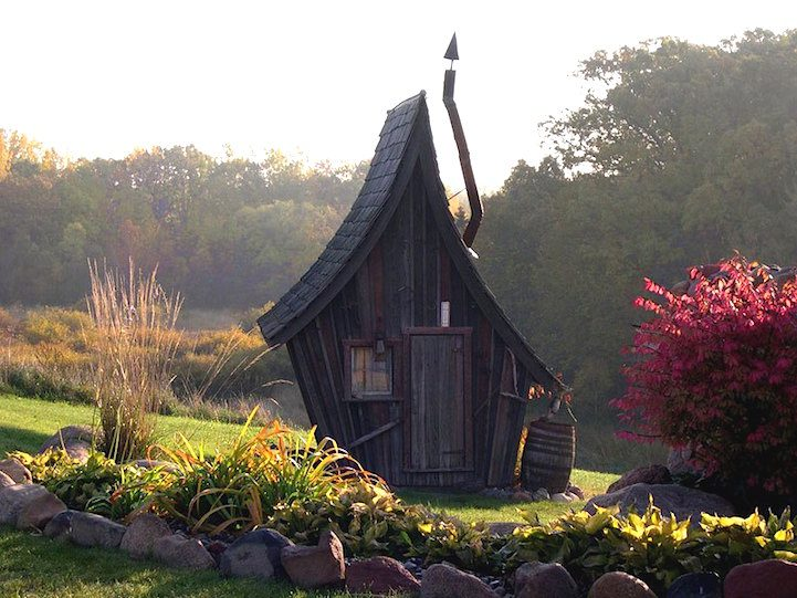 Playful Tiny Homes For Your Own Fairy Land 2