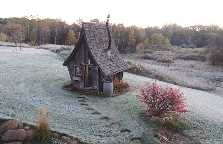 Playful Tiny Homes For Your Own Fairy Land 4