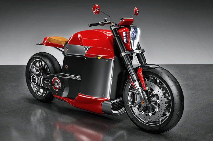 Tesla Model M Motorcycle For Bike Enthusiasts 1