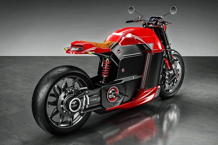 Tesla Model M Motorcycle For Bike Enthusiasts 2