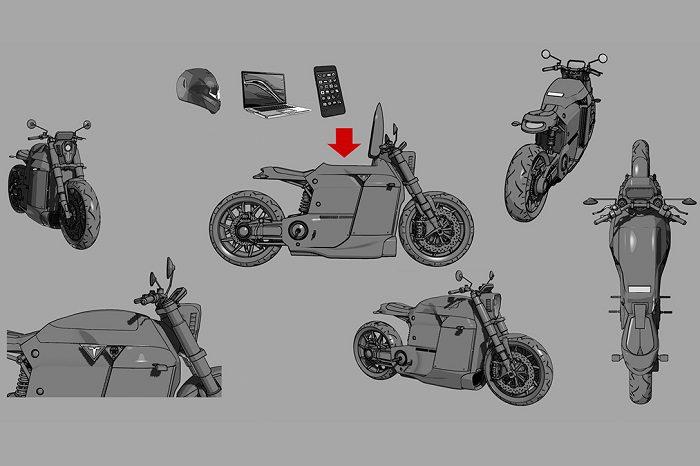 Tesla Model M Motorcycle For Bike Enthusiasts 3