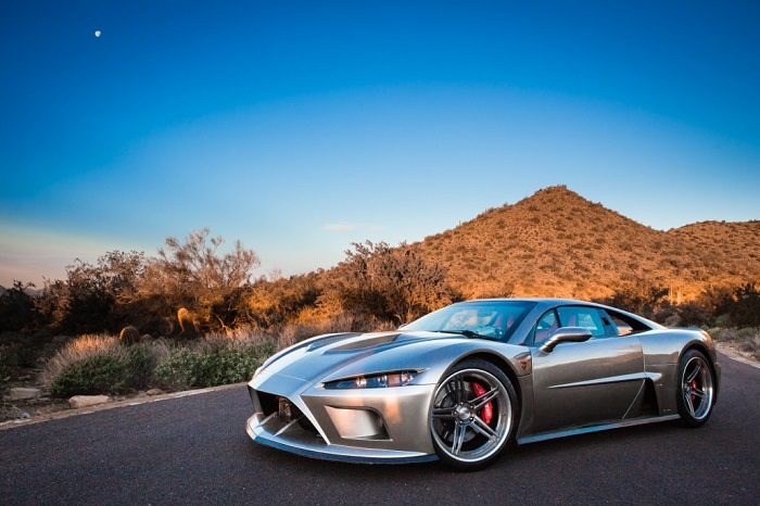 The Unique Design Of Supercar Falcon F7 1