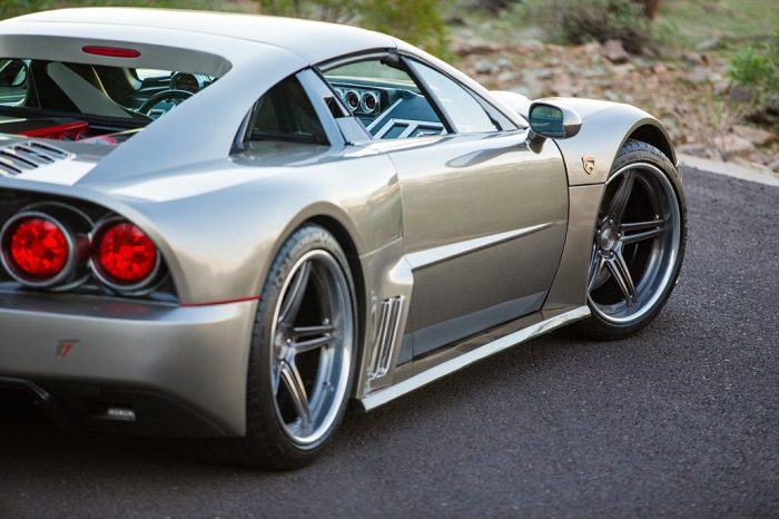 The Unique Design Of Supercar Falcon F7 3