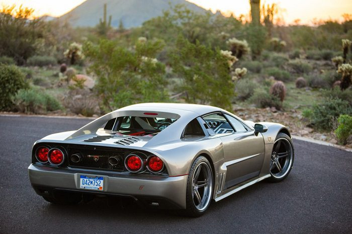 The Unique Design Of Supercar Falcon F7 8