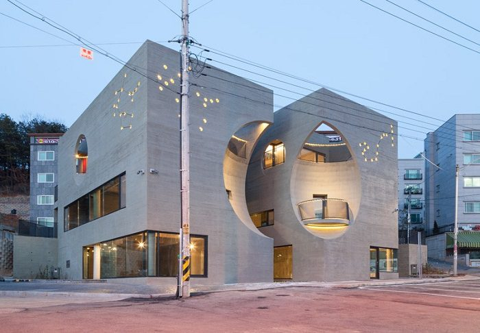 Two Moon By Moon Hoon Unique Architectural Designs iCreatived