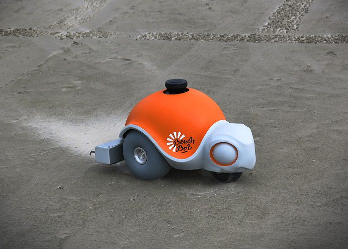 World's First Autonomous Sand Art Robot 1