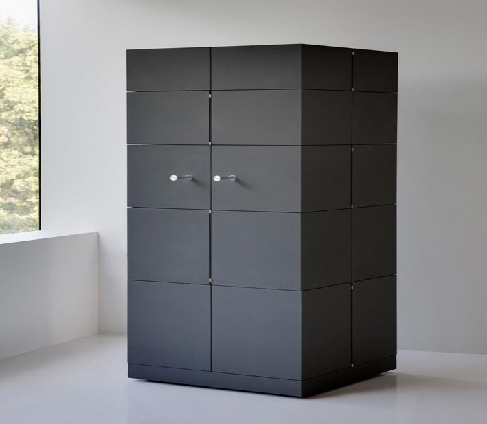 The Transforming Cubrick Cabinet Comes from 'Chaos Technique'3