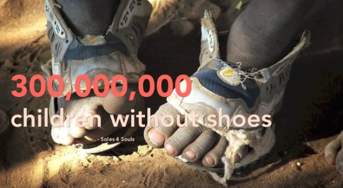 Shoes That Grow Five Sizes To Help Millions Of Poor
