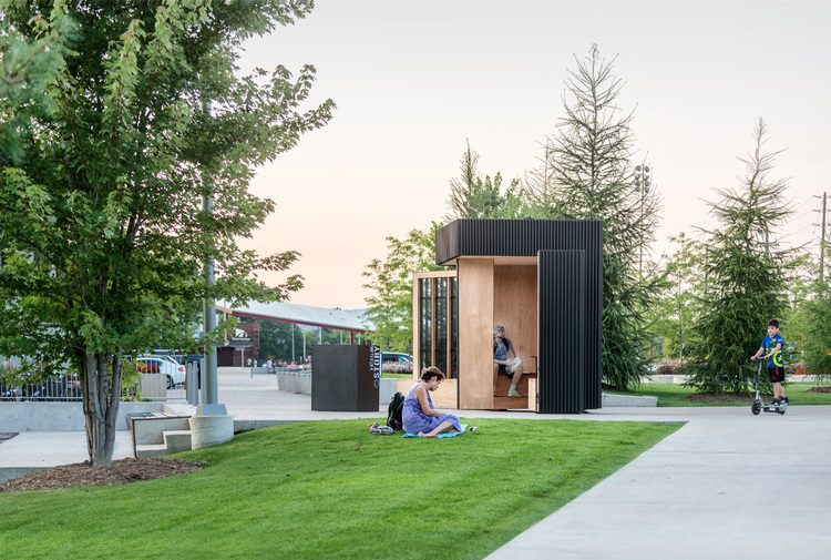 Story Pod, Giant Open-Air Mobile Library 3