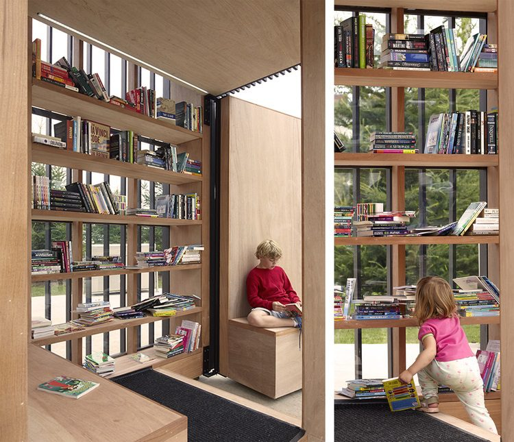 Story Pod, Giant Open-Air Mobile Library 5