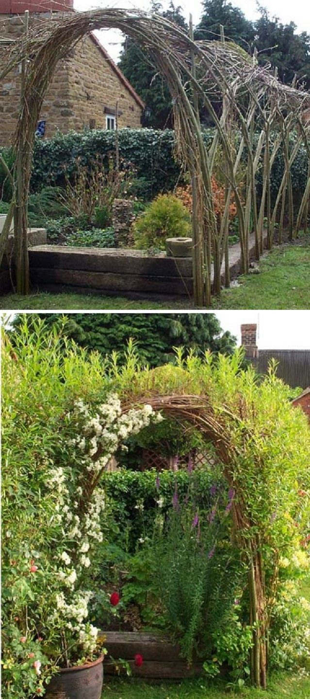20 Beautiful Examples Of Living Willow Fences 15