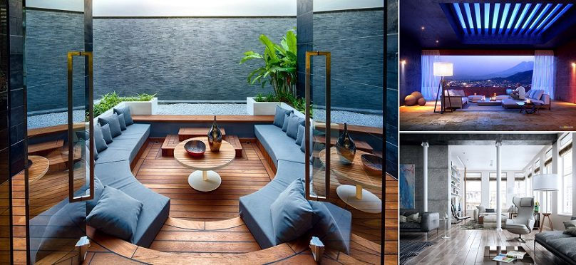 25 Modern Living Rooms With Cool And Clean Lines