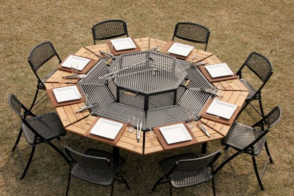 Awesome Jag Grill BBQ Table 1