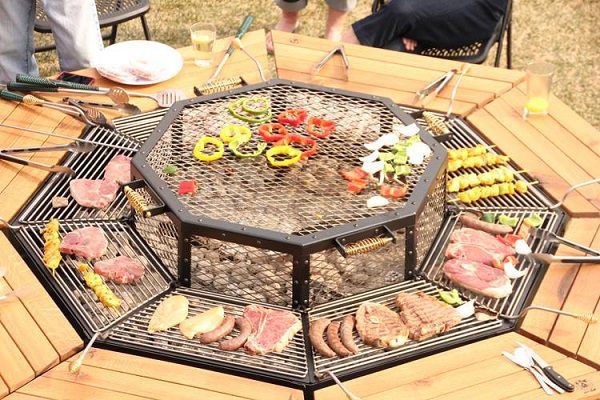 Awesome Jag Grill BBQ Table 2