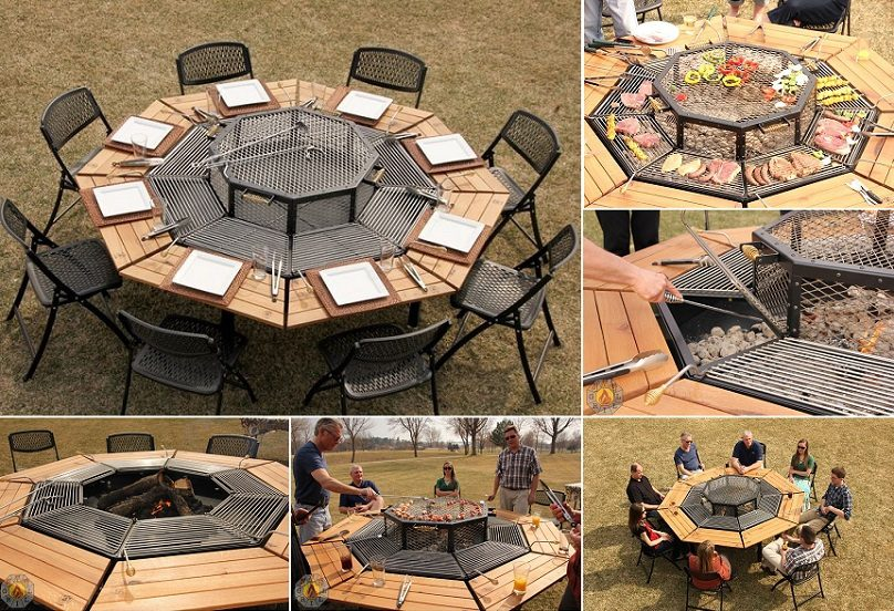 Awesome Jag Grill Bbq Table Icreatived