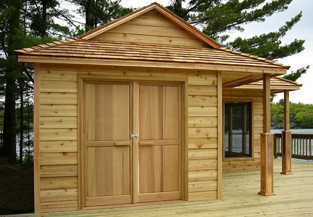 Compact 12 x 18 Wood Cottage 2