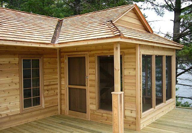 Compact 12 x 18 Wood Cottage 3