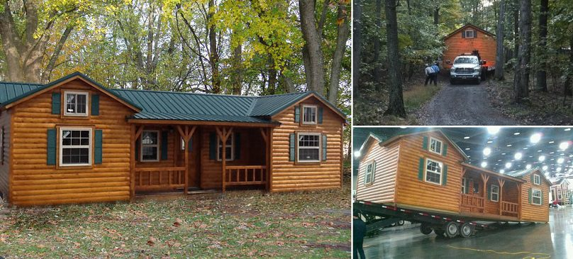 Cumberland Log Cabin Kit from $16,350 - iCreatived