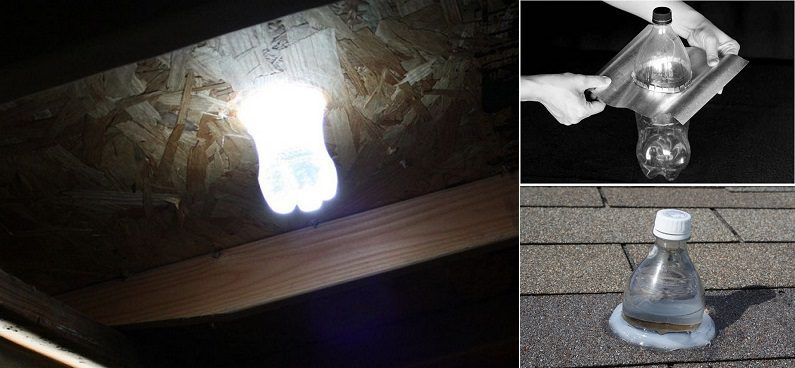 DIY Solar Water Bulb