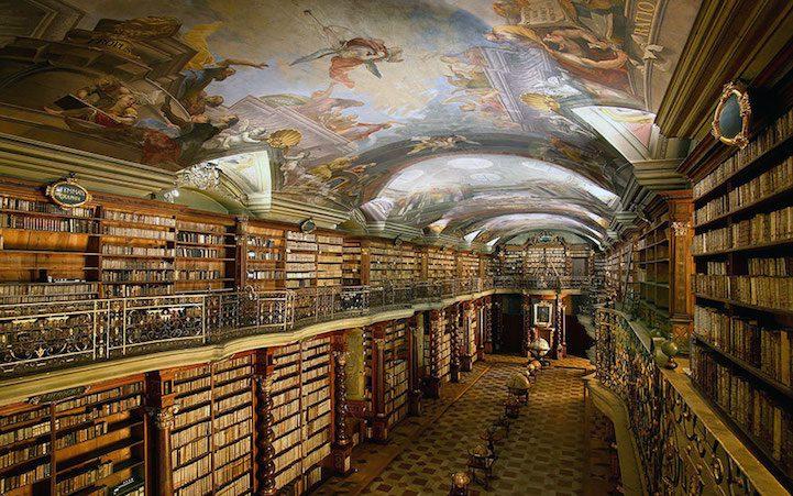 Grandiose Baroque Library Stunning Kingdom for Books 1