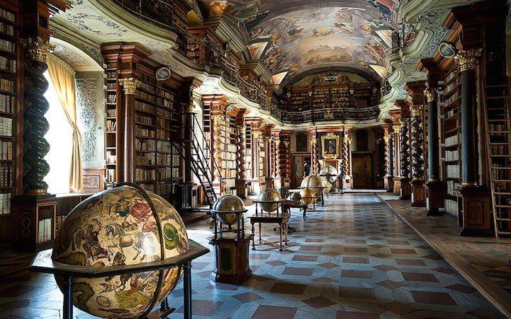 Grandiose Baroque Library Stunning Kingdom for Books 2