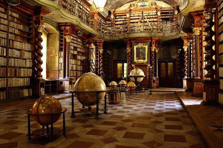 Grandiose Baroque Library Stunning Kingdom for Books 3
