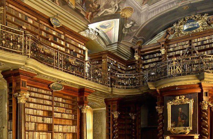 Grandiose Baroque Library Stunning Kingdom for Books 4