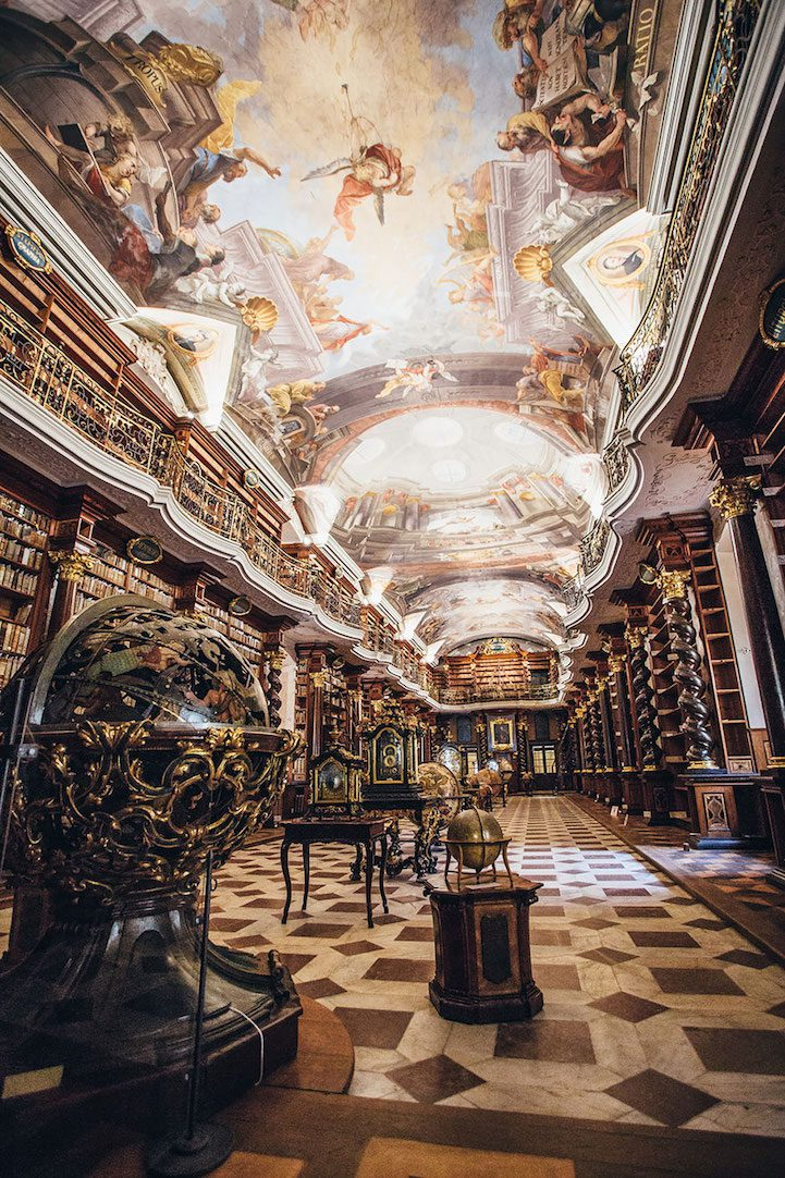 Grandiose Baroque Library Stunning Kingdom for Books 5