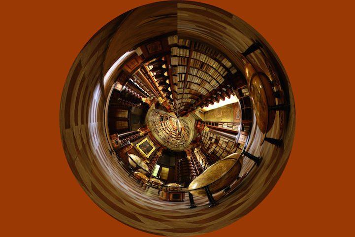 Grandiose Baroque Library Stunning Kingdom for Books 6