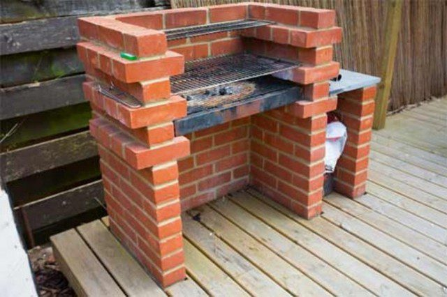 How To Build A Brick Barbecue For Your Backyard 1